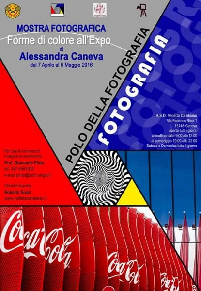 "Mostra personale ""Forme di colore all'Expo"""